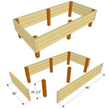 Simple Raised Bed Plan